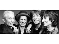 Face Value: 2 x Rolling Stones General Admission tickets - London 22nd May