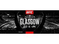 UFC GLASGOW TICKETS JULY 16TH