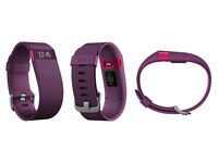Brand new boxed Fitbit Charge HR in Purple. Size - Large. Unwanted Gift.