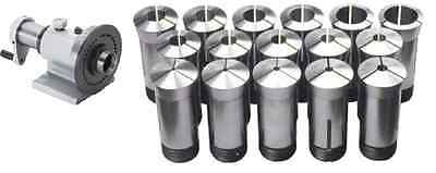 5c Precision Spin Index Fixture Collet For Milling With 15pc 5c Collets