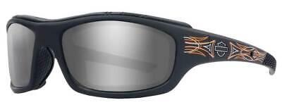 Harley-Davidson Men's Tunnel LA Sunglasses, Matte Black Pinstripe Frames HDTNL25