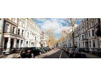 Spacious & Large Studio Flat, Philbeach Gardens, Earls Court, Private Garden. Free 100mb WiFi