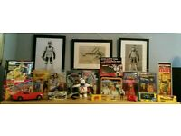 Wanted Cash paid Star Wars, Mego, Palitoy, Corgi, Dinky, Mattel