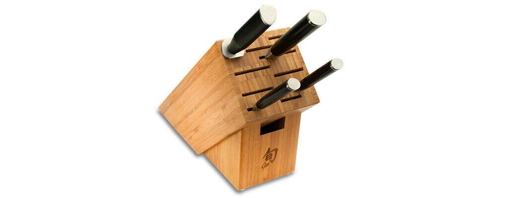 Shun Classic 5 Piece Knife Starter Block Set