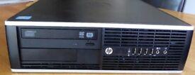 BARGAIN FAST HP Compaq 8200 Elite SFF PC Intel Core i5 2500 3.3GHz 250GB HDD 6.0GB RAM