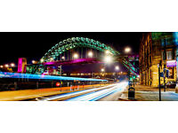 4Star Hotel,2 nights&Train Tickets for 2 to Newcastle 27th to 29th May,ALL FOR £200