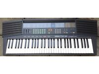 Yamaha PSR-38 Portatone 61-Key MIDI Musical Electronic Keyboard Full-Size Keys MIDI w/ AC Adapter