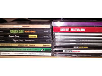Green Day music CD collection