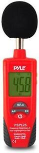 New - DIGITAL HANDHELD SOUND LEVEL METER - IDEAL FOR MUSICIANS AND SOUND ENGINEERS