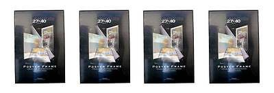 Value Pack Four 27x40 Movie Poster Frames Fully Assembled 27