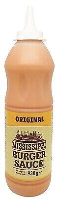 (6,44€/1kg) Mississippi Burger Sauce Original 930g