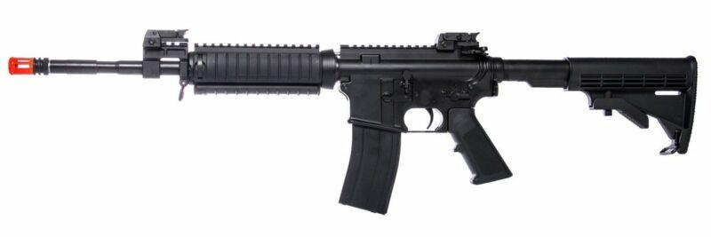 KJW M4 RIS Gas Blowback Airsoft Rifle Toy Black
