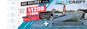 2019 NEW Polycraft 4.8 Brumby Frontrunner SALE OFFER!! South Nowra Nowra-Bomaderry Preview