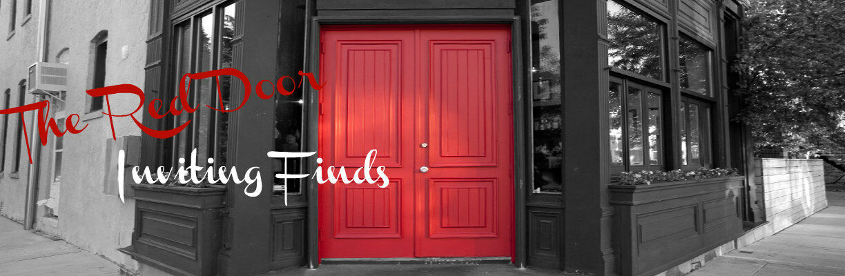 The Red Door Inviting Finds