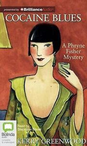 NEW Cocaine Blues (Phryne Fisher Mysteries) by Kerry Greenwood