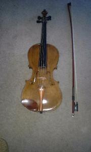 1910 copy of Stainer Violin.
