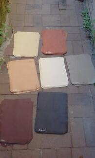 Bulk Lot Upholstery Leather Samples,Shoe Repairs,Leather Craft,