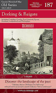 Dorking and Reigate (Cassini Old Series Historical Map), VARIOUS, New Book