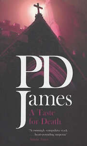 """AS NEW"" James, P D, A Taste For Death Book"