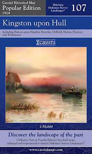 Kingston Upon Hull (Cassini Popular Edition Historical Map), , New Book