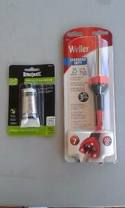 SOLDERING IRON AND SOLDER KIT