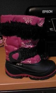 girl winter boots size 6