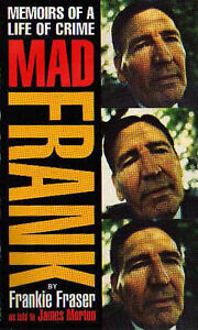 Mad-Frank-Memoirs-of-a-Life-of-Crime-Fraser-Frankie-Used-Good-Book