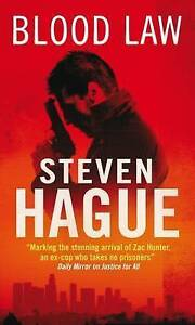 Steven Hague - Blood Law *USED* + FREE P&P