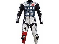 one piece YAMAHA Motorbike Leather Suit