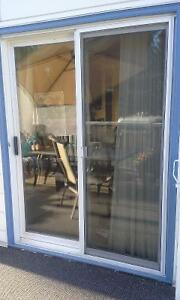 Patio door replacement glass by Loewen