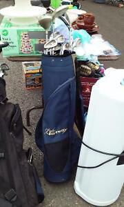 Ensemble Golf  sac et bâtons pour femme gaucher
