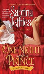 One Night with a Prince by Jeffries, Sabrina -Paperback