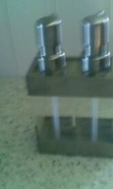 Modern - Bathroom/kitchen, twin pump dispenser