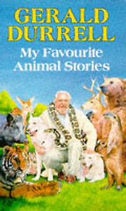 Durrell-Gerald-My-Favourite-Animal-Stories-Red-Fox-Older-Fiction-Book