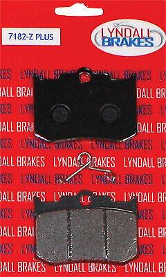 Lyndall Racing 7182-Z+ Z Plus Brake Pads for Performance Machine