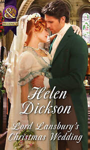 Lord-Lansbury-039-s-Christmas-Wedding-by-Helen-Dickson-Paperback-2015