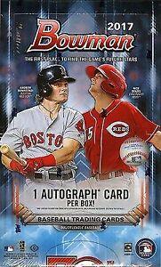 2017 Bowman Baseball card Hobby Box - possible Aaron Judge auto!