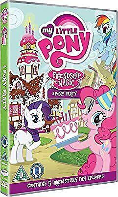 My Little Pony: A Pony Party [DVD] [2017], , Used; Very Good DVD