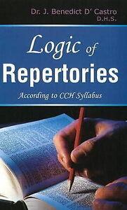 Logic of Repertories, J. Benedict D'Castro