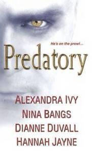 NEW Predatory by Alexandra Ivy