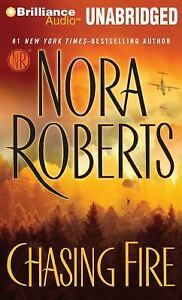 CHASING FIRE unabridged audio book on CD by NORA ROBERTS ...