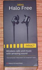 BRAND NEW Jabra Halo Free Wireless Headphones in Box Indooroopilly Brisbane South West Preview