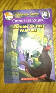 Geronimo Stilton Creepela von Cacklefur books for sale