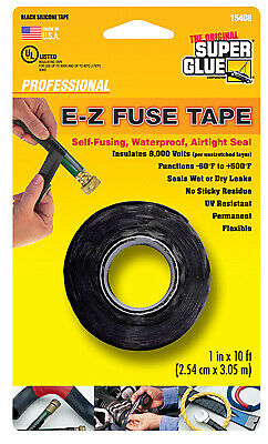 Silicone Tape Black 1-in. X 10-ft.