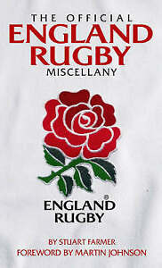The Official England Rugby Miscellany :, Stuart Farmer, New Book