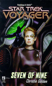 Christie-Golden-Seven-of-Nine-Star-Trek-Voyager-Book