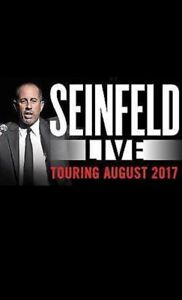 2X SEINFELD SYDNEY 11 AUG 7PM Crows Nest North Sydney Area Preview