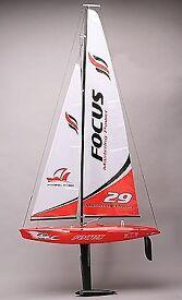 2 Jioysway focus rc 1m Racing yaghts (unused)