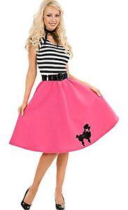 Rock n Roll Poodle Skirt Dress Costume Singleton Rockingham Area Preview