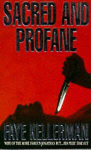 Sacred and Profane by Faye Kellerman (Paperback, 1994)